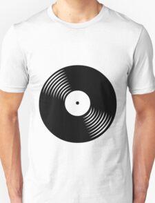 Black Vinyl Unisex T-Shirt