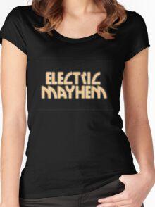 Electric Mayhem Women's Fitted Scoop T-Shirt