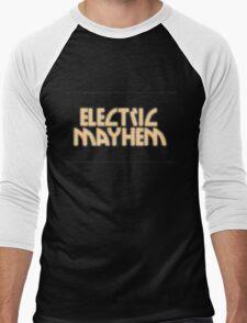 Electric Mayhem Men's Baseball ¾ T-Shirt