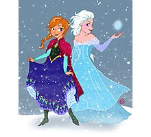 Frozen - Anna and Elsa Photographic Print
