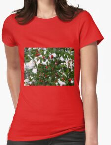 Jolly Holly Womens Fitted T-Shirt