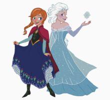 Frozen - Anna and Elsa Kids Clothes