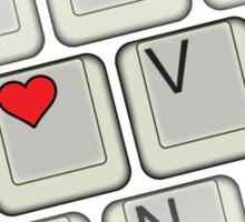 Love Keyboard Sticker