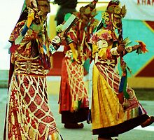 Dancers, India by Emily Felty