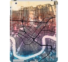 Washington DC Street Map iPad Case/Skin