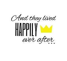 And they lived happily ever after... by thebookstheppl