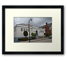 One of Carnegies Many Libraries Framed Print