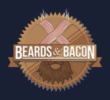 Beards and Bacon by GordonBDesigns