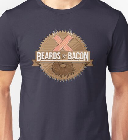 Beards and Bacon T-Shirt
