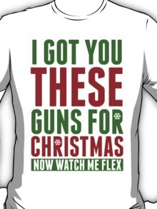 Guns For Christmas T-Shirt