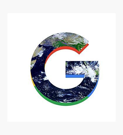 Google Logo Photographic Print