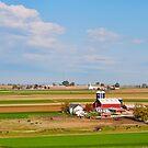 Lancaster County Farm Land by Penny Rinker