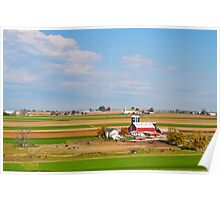 Lancaster County Farm Land Poster