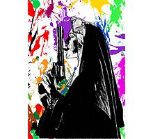 nun with gun Photographic Print