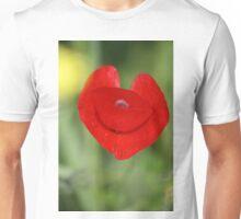 Heart of poppy Unisex T-Shirt