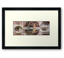 invisible frontiers in your mind due to the absence of hope Framed Print