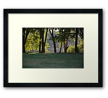 Pennsylvania waterview Framed Print