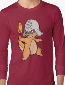Char-Mander Aznable (Pokemon) Long Sleeve T-Shirt