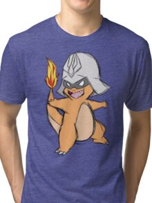 Char-Mander Aznable (Pokemon) Tri-blend T-Shirt