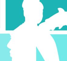 Title Archer (blue) Sticker