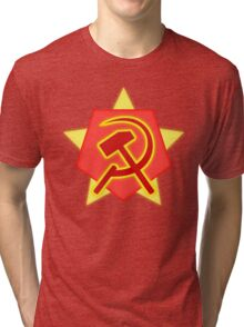 Red Alert 2 - Soviet Union Tri-blend T-Shirt