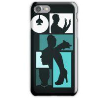 Title Archer (blue) iPhone Case/Skin