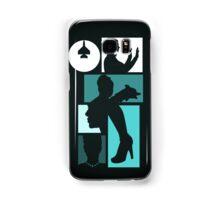 Title Archer (blue) Samsung Galaxy Case/Skin