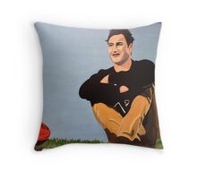 Marto gets drafted. Throw Pillow