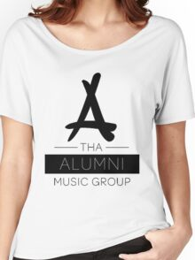 Tha Alumni Music Group Logo (FIXED) Women's Relaxed Fit T-Shirt