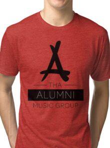 Tha Alumni Music Group Logo (FIXED) Tri-blend T-Shirt