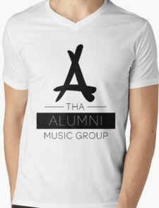 Tha Alumni Music Group Logo (FIXED) Mens V-Neck T-Shirt