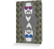 pbbyc - The Dude Greeting Card