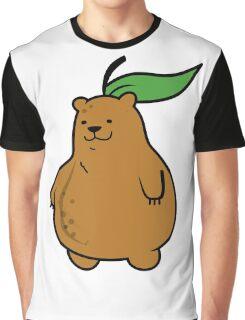 Pear Bear Graphic T-Shirt