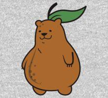 Pear Bear One Piece - Long Sleeve