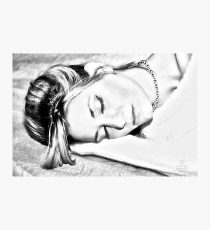 """Sketching Nina"" Photographic Print"