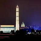 Washington by Night by bkphoto