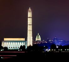 Washington DC Reflection by bkphoto