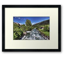 Splügen, Switzerland Framed Print