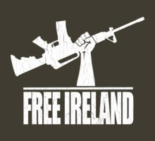 Free Ireland (Vintage Distressed Design) by robotface