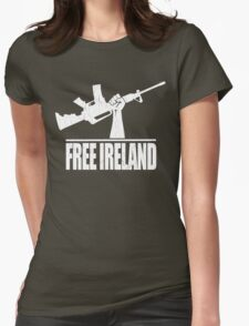 Free Ireland (Vintage Distressed Design) Womens Fitted T-Shirt