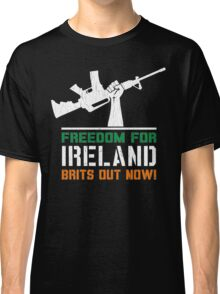 Freedom for Ireland (Vintage Distressed) Classic T-Shirt