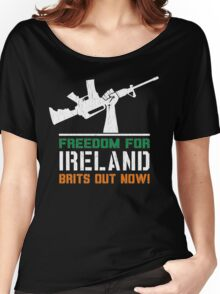 Freedom for Ireland (Vintage Distressed) Women's Relaxed Fit T-Shirt