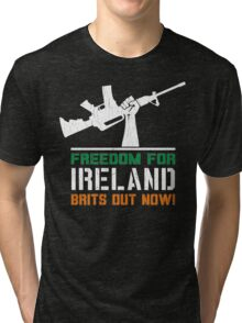 Freedom for Ireland (Vintage Distressed) Tri-blend T-Shirt