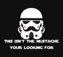 Storm Trooper - Movember by designCENTRAL