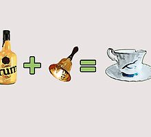 Rum + Bell = Chipped Cup (Rumbelle) by oncenfuturekiki