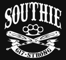Southie - 617 Boston Strong (Vintage Distressed) by robotface