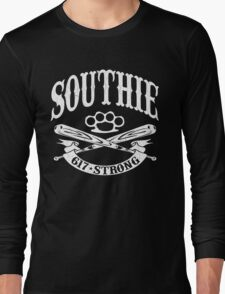 Southie - 617 Boston Strong (Vintage Distressed) Long Sleeve T-Shirt