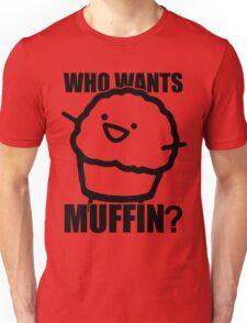ASDFMOVIE 7 - Who wants muffin? Unisex T-Shirt