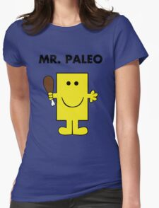Mr. Paleo Womens Fitted T-Shirt