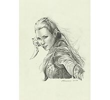 Daughter of Mirkwood Photographic Print